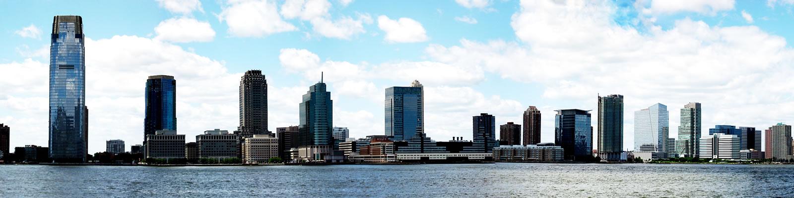 Jersey City New Skyline